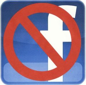 !! No-Facebook-logo